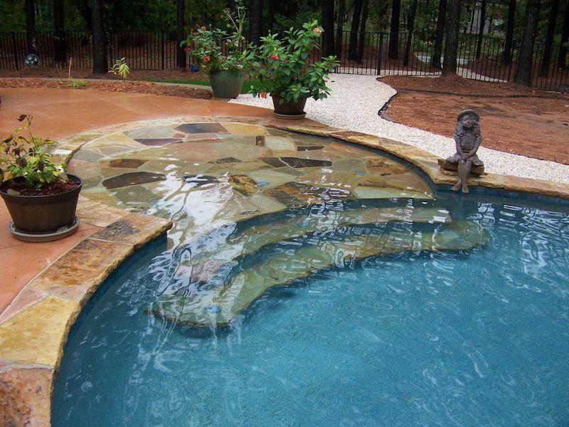 Charming Custom Swimming Pool And Spa Photos | Charlotte | Waxhaw | Weddington Design Ideas