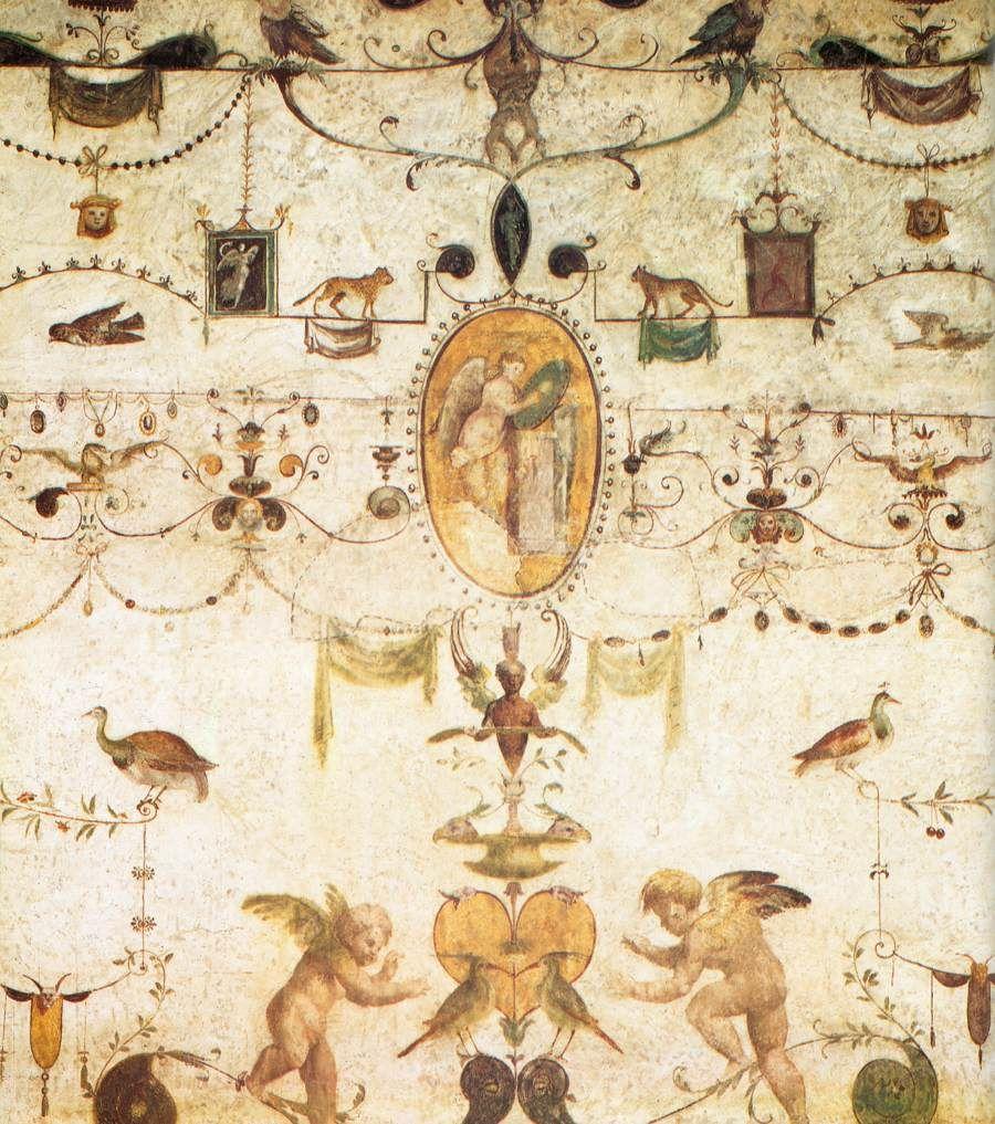 La pittura parietale romana artificio meraviglia gusto for Bernini arredamento