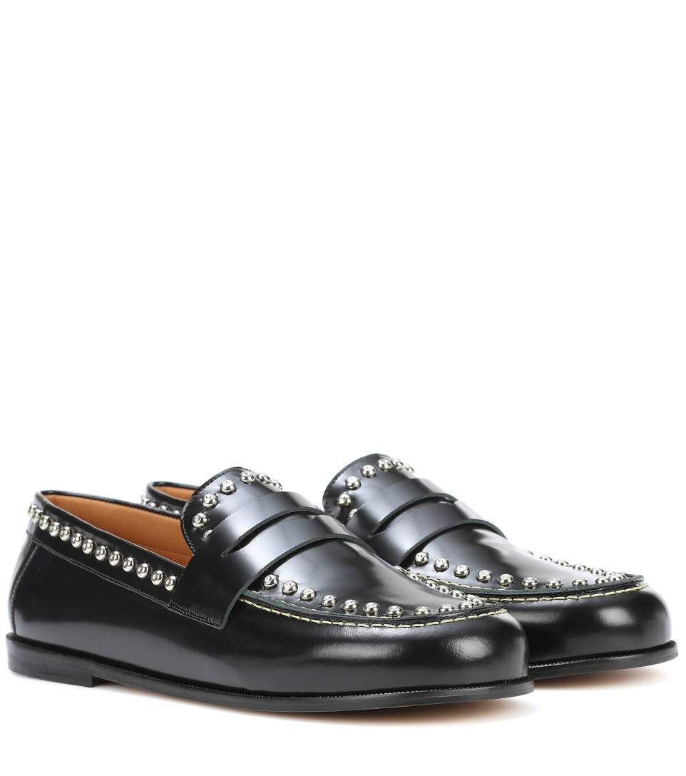 new arrival 9f99a ac981 Shop Fenzay embellished leather loafers presented at one of the world s  leading online stores for luxury fashion.