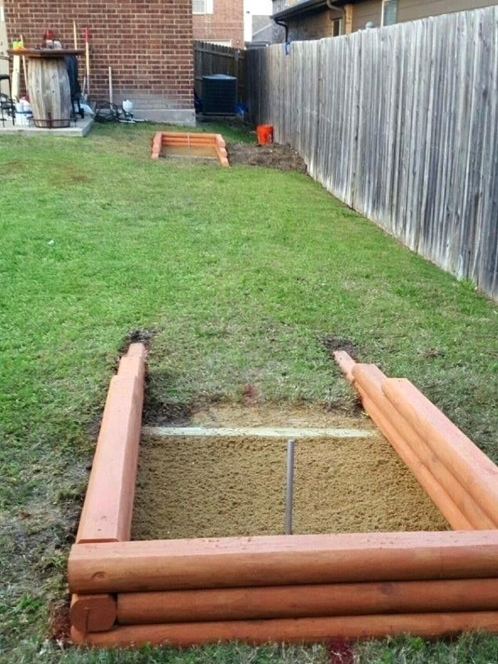 Horseshoe Pit Dimensions Backyard