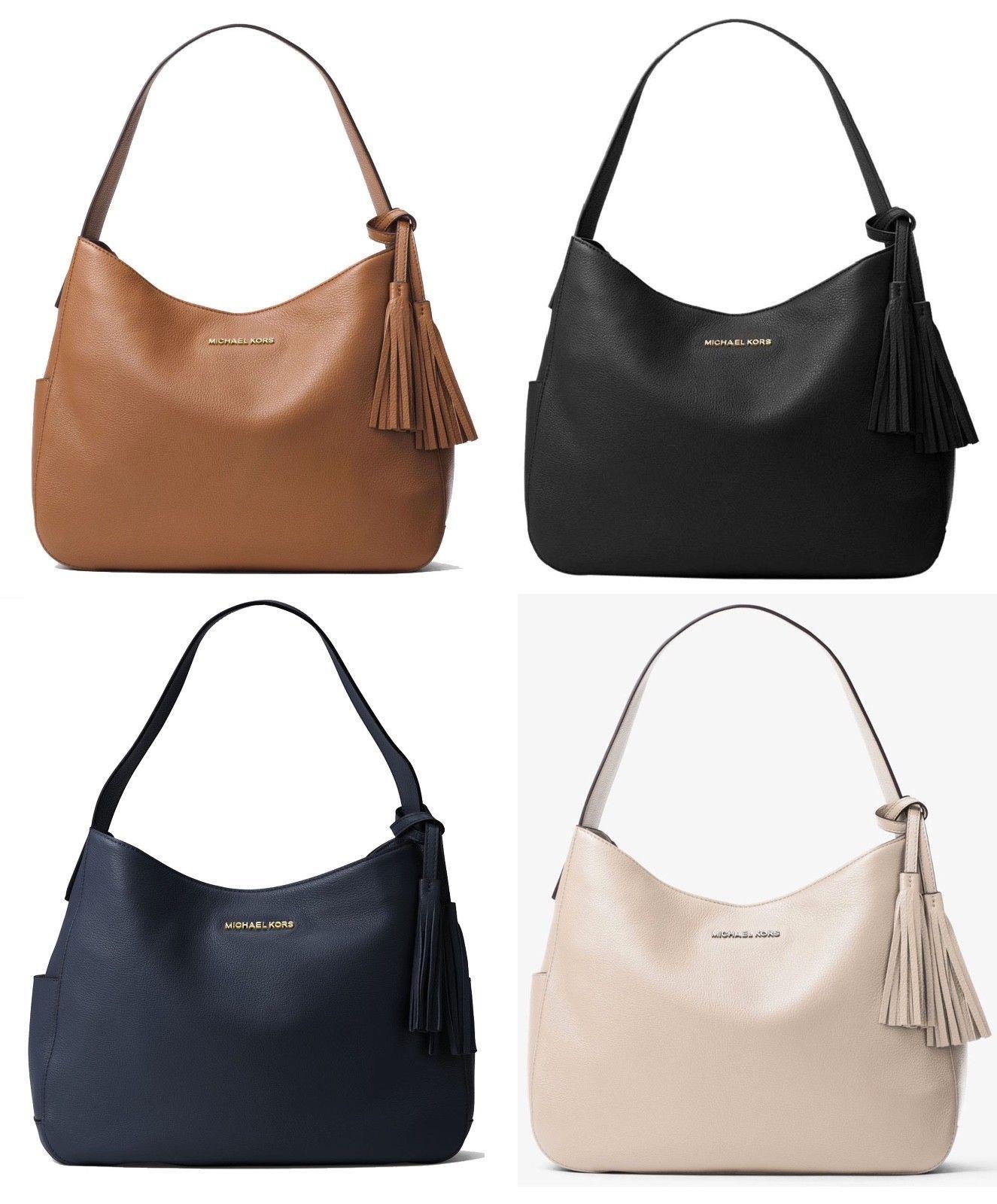 f23224bea6f6 Michael Kors Ashbury Ultra Soft Leather Shoulder bag | Designer ...