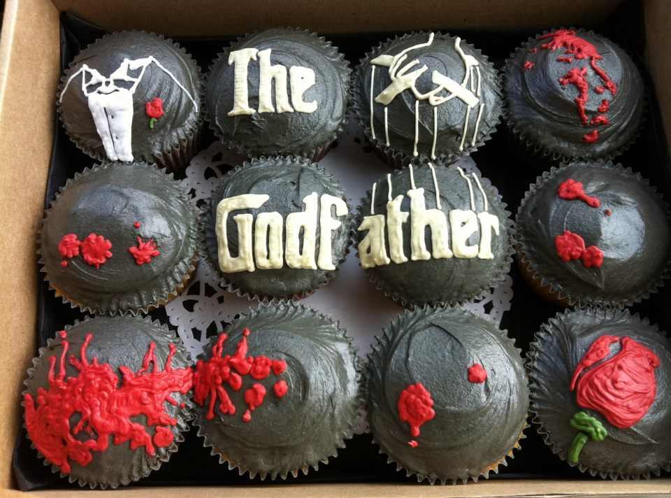The Godfather Cupcakes Made By Crumbs Amp Dollies Designed