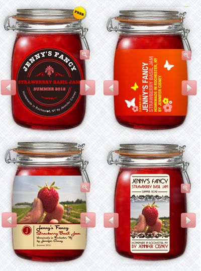 Ljcfyi Jam And Beer Label Makers