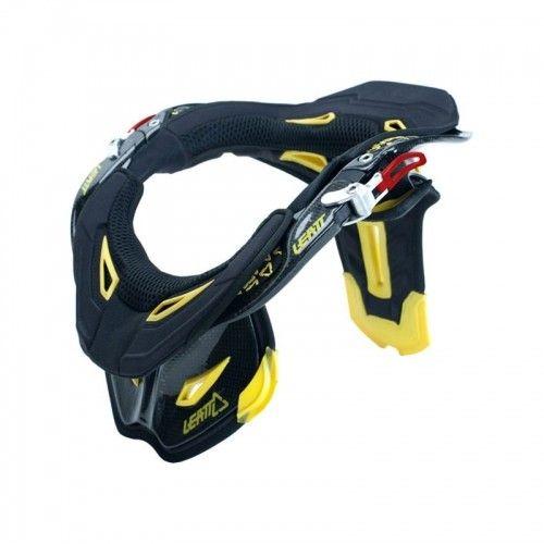 Leatt Moto Gpx Pro Neck Brace Carbon Black Yellow Black Off Road