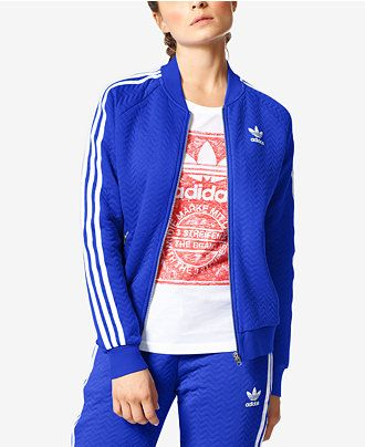 adidas Originals Superstar Track Jacket - Activewear - Women ...