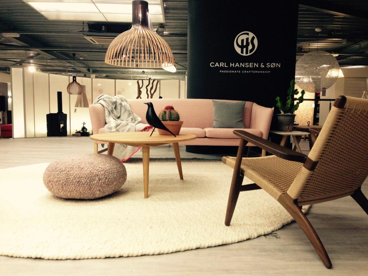 Roundabout vloerkleed en lounge poef vloerkleed rug wol wool