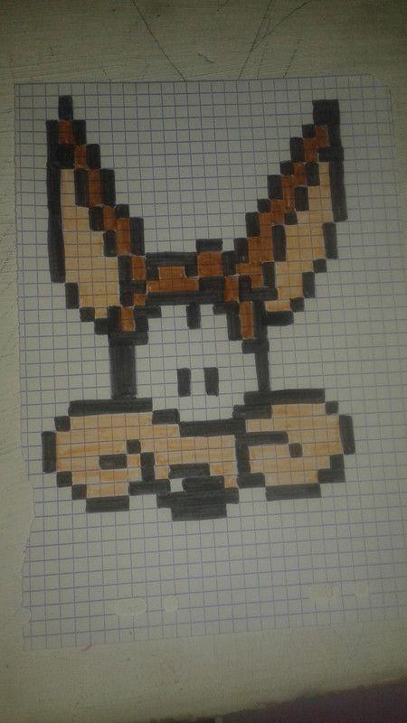 Coyote Dessin Pixel Dessin Pixel Facile Et Pixel Art