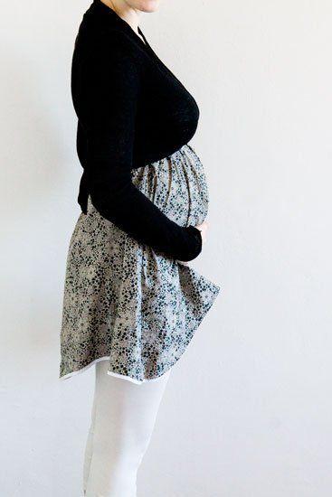 Tuto robe grossesse tr s facile tuto divers tissus for Apprendre a coudre des vetements