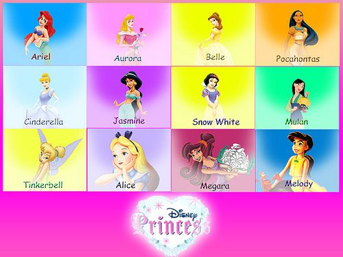 Disney Princesses Disney Princess Names All Disney Princesses