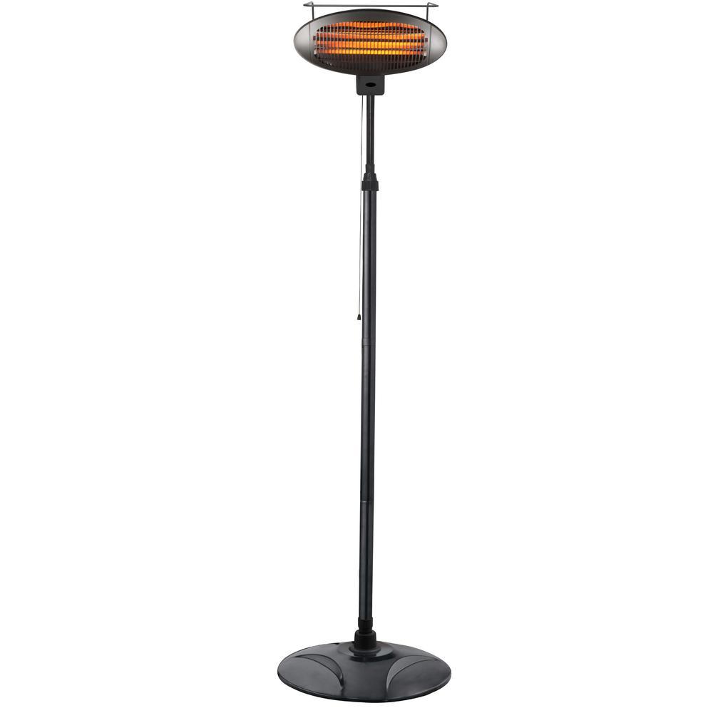 1500 Watt Free Standing Infrared Electric Patio Heater Hil 1500di Patio Heater Propane Patio Heater Natural Gas Patio Heater