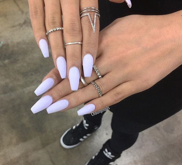 Like What You See Follow Me For More Skienotsky Cute Acrylic Nails Pastel Nails Lavender