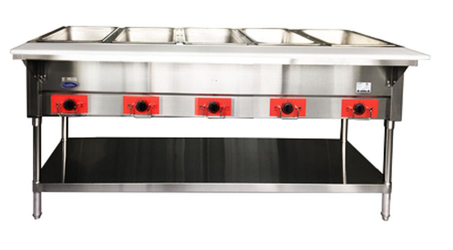 Atosa Csteb 5 Commercial Electric Steam Table Atosa Steam Tables Restaurant Equipment Electricity