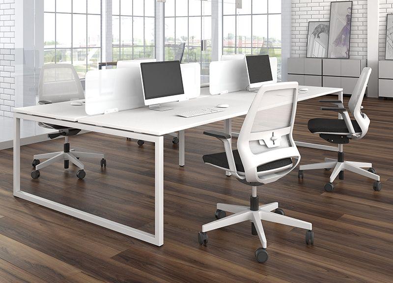 Office Desking Nova O Desks And Benches Narbutas Office Desk Furniture Single Desk