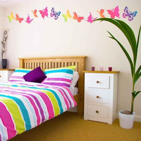 Colorful Girl Bedroom Theme