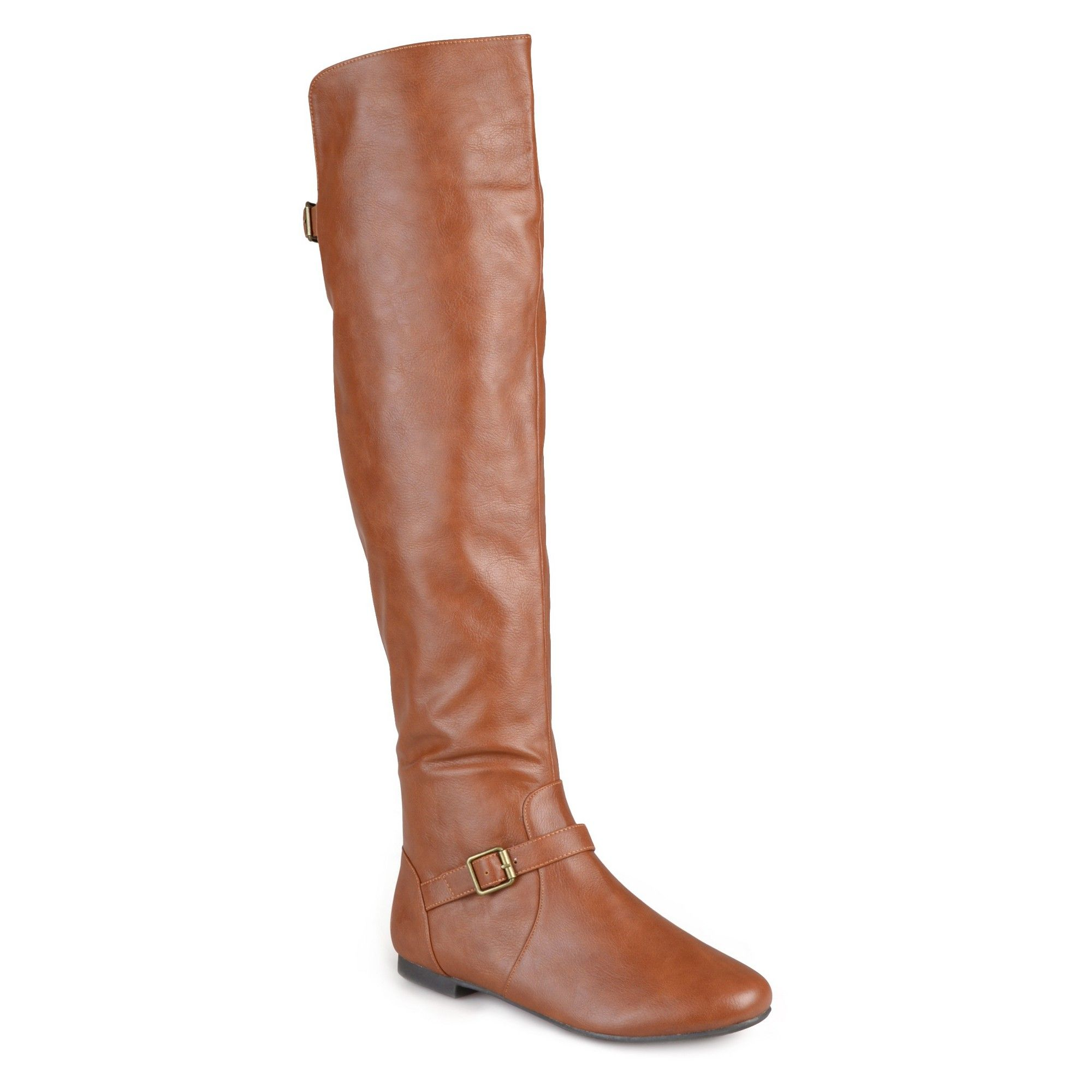 7014abfba850 Women s Journee Collection Tall Riding Boots - Chestnut 9