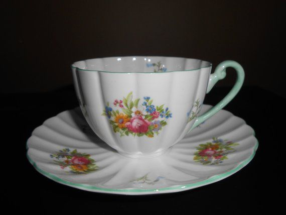 Gl Shelley China Cup Saucer