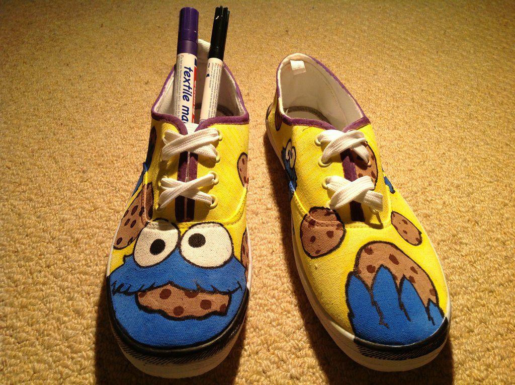 6a49f35576d3e0 ... cookie monster shoes by albax3 deviantart com on deviantart ...
