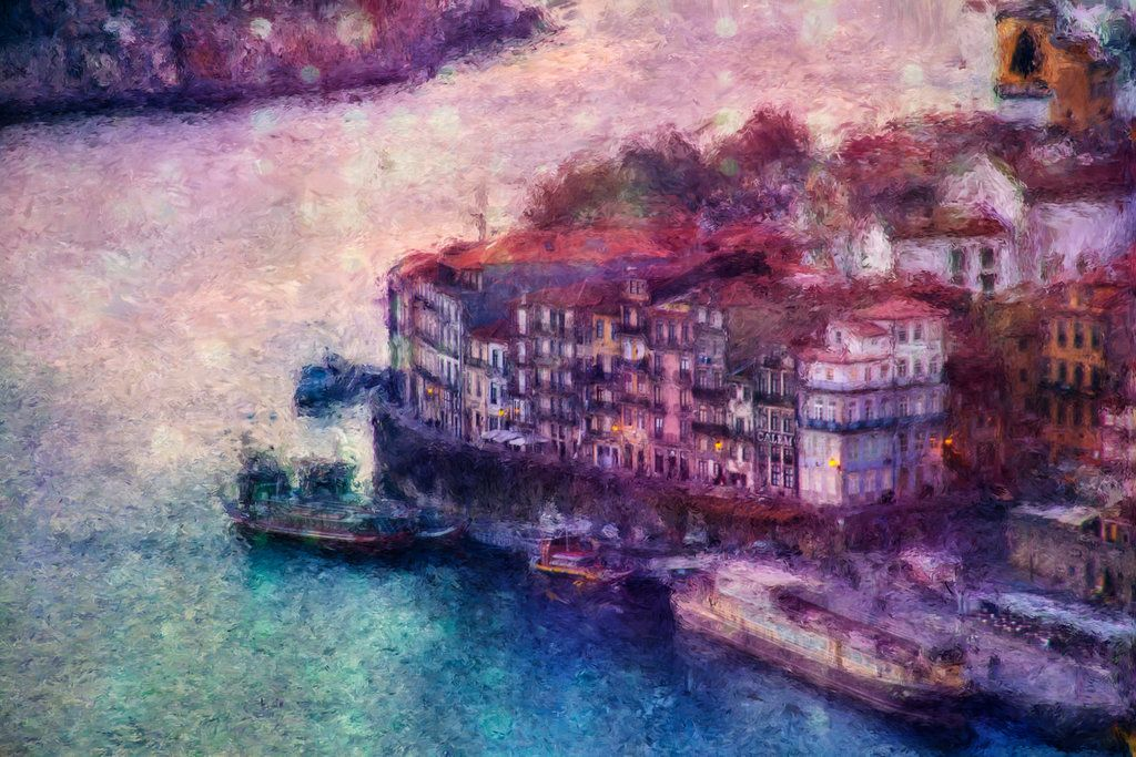 Porto view by vlad-m.deviantart.com on @deviantART