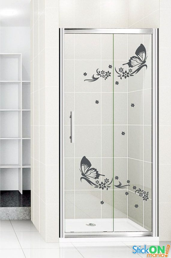 Shower door sticker 5 by stickonmania wall decal by stickonmania 21 00