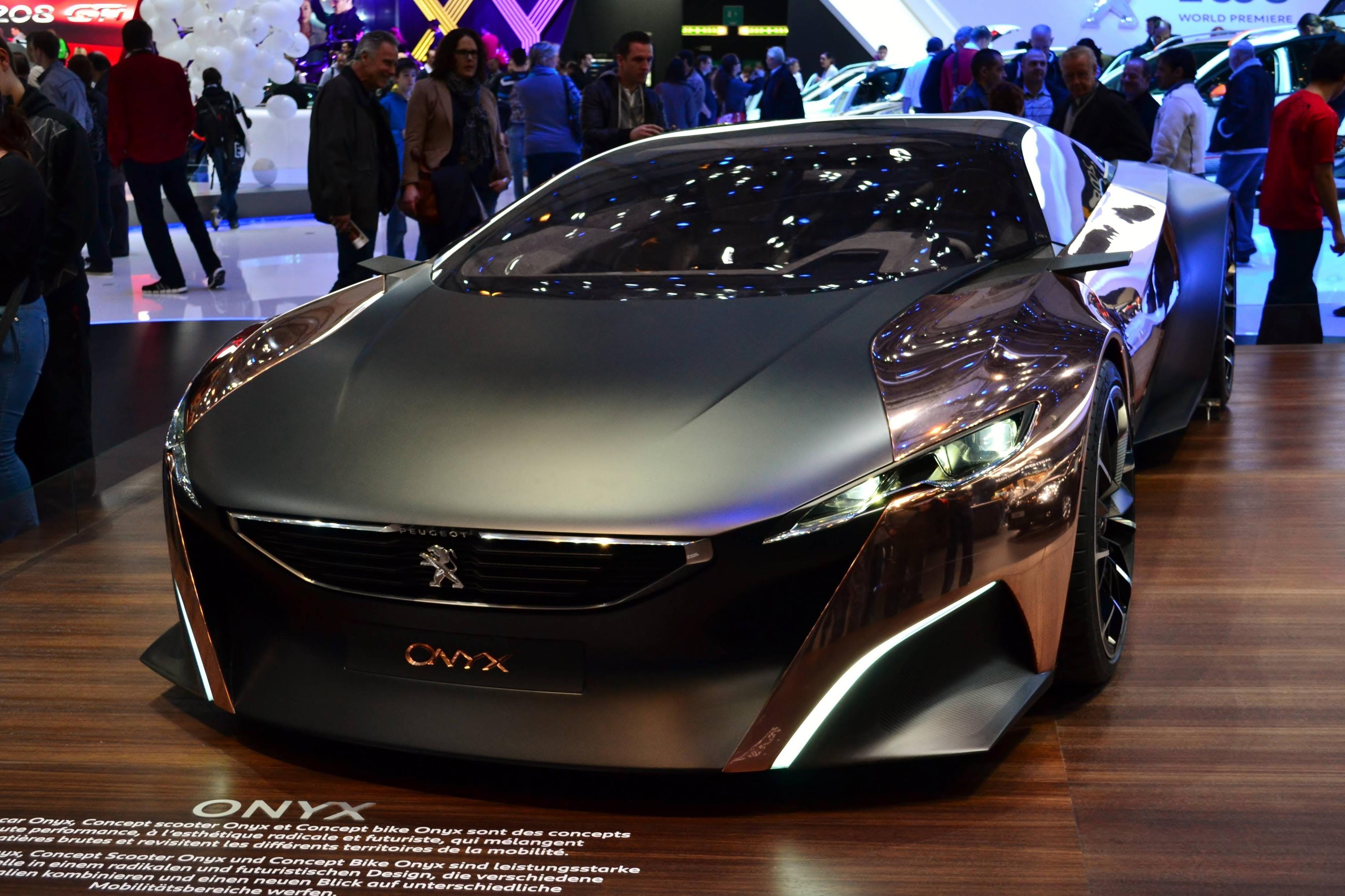 Peugeot Onyx (concept) Geneva motor show 2013 [4604x3068