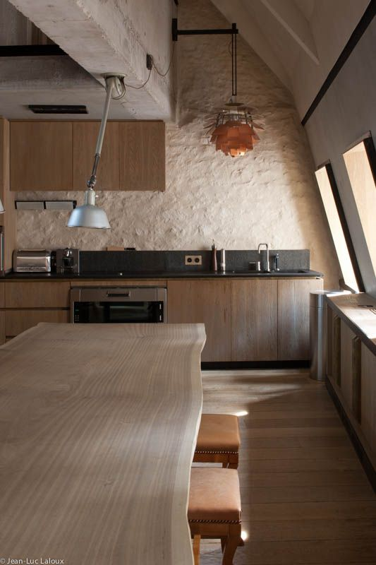 Wooden kitchen / dining space #interiors #interiordesign #bespoke #home #style #design #homedesign