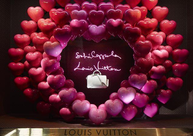 Sofia Coppola's Le Bon Marche Louis Vuitton Windows :: Harper's BAZAAR