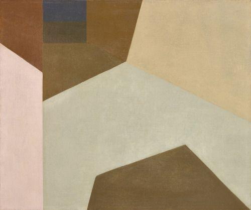 "apeninacoquinete: ""Helen Lundeberg, Sunny Corridor, 1959 """