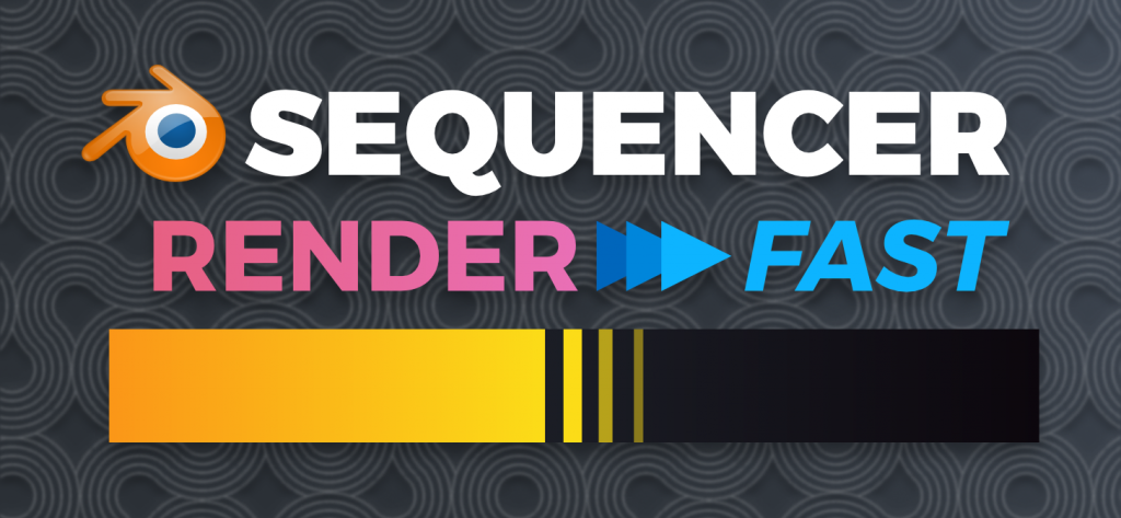 Render Faster In The Vse With Bpsrender Blender Addons Rendering Tech Company Logos