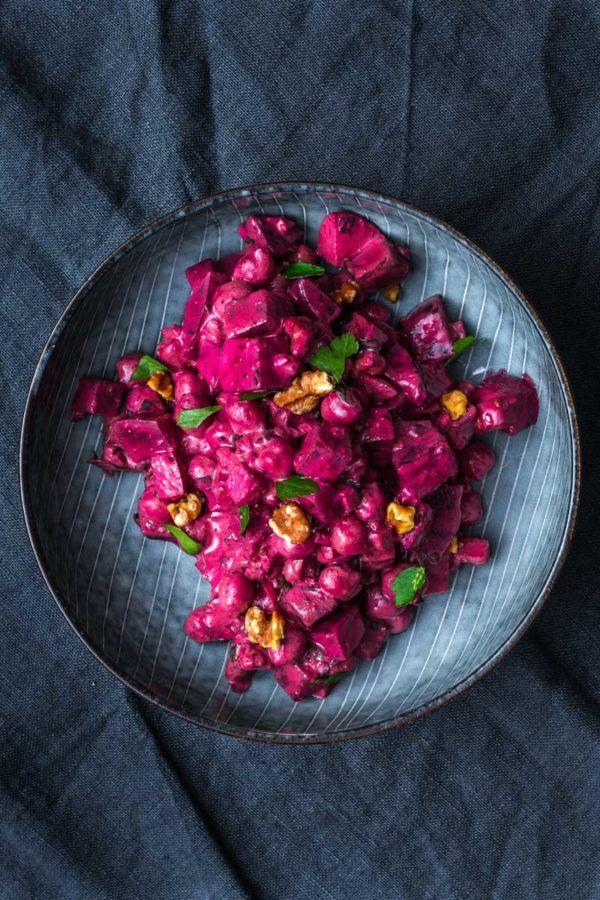 Indischer Kichererbsen Rote Beete Salat Rezept Kochen Und Backen