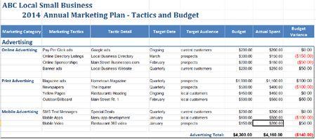 detailed marketing plans calendar budgeting google search