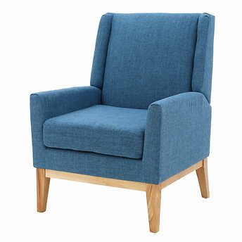 Crosby Fabric Accent Chair Blue Costco 169 Accent