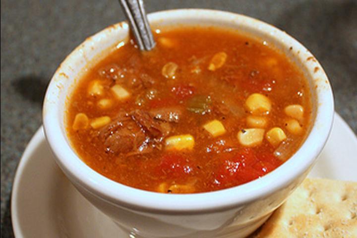 Heartland steak soup