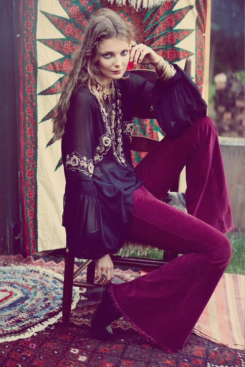 The Boho Garden great outfit.....who made this?  anyone know?