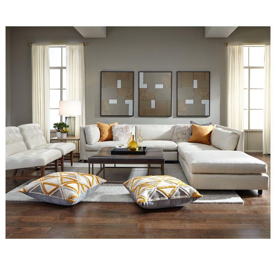 Home Decor Stores Chicago: FRANCO SECTIONAL [available Online And In Stores