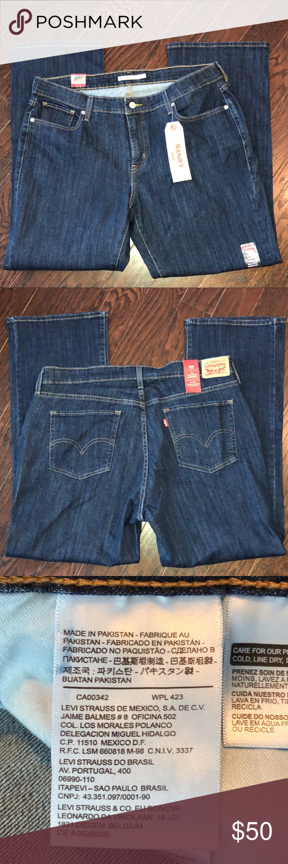 bea27cd58cb Plus Size LEVI 415 Relaxed Fit Bootcut Jeans New. Levi Relaxed Bootcut Jeans.  We