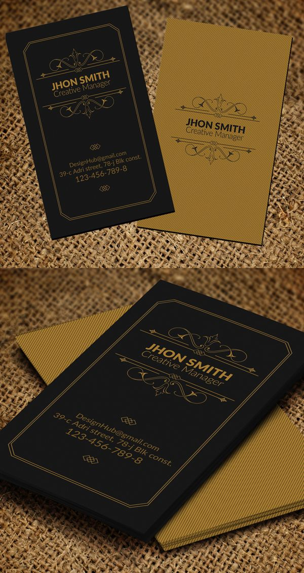 Business Cards Design: 50+ Amazing Examples to Inspire You - 25 ...