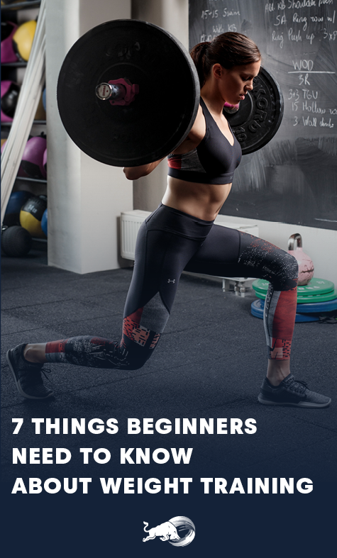 Stick To These 7 Weight Training Basics And Raise The Bar On Your Fitness Pursuits Weight Training Gym Workouts Weight