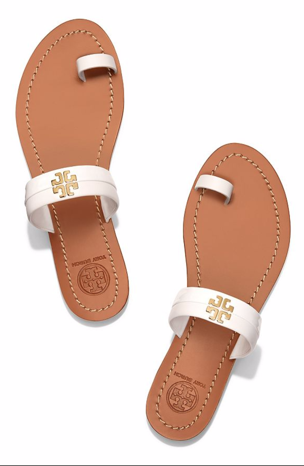 cdc507e089cc81 Tory Burch Jolie Toe-Ring Slide