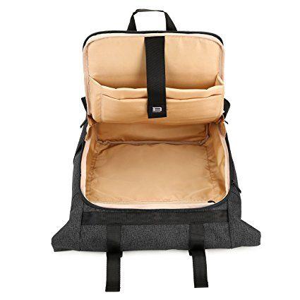 ce72220a8146 Amazon.com: BAGSMART Laptop Backpack Weekender Travel Business ...