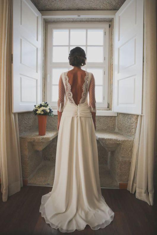 Vestidos para boda espalda al aire