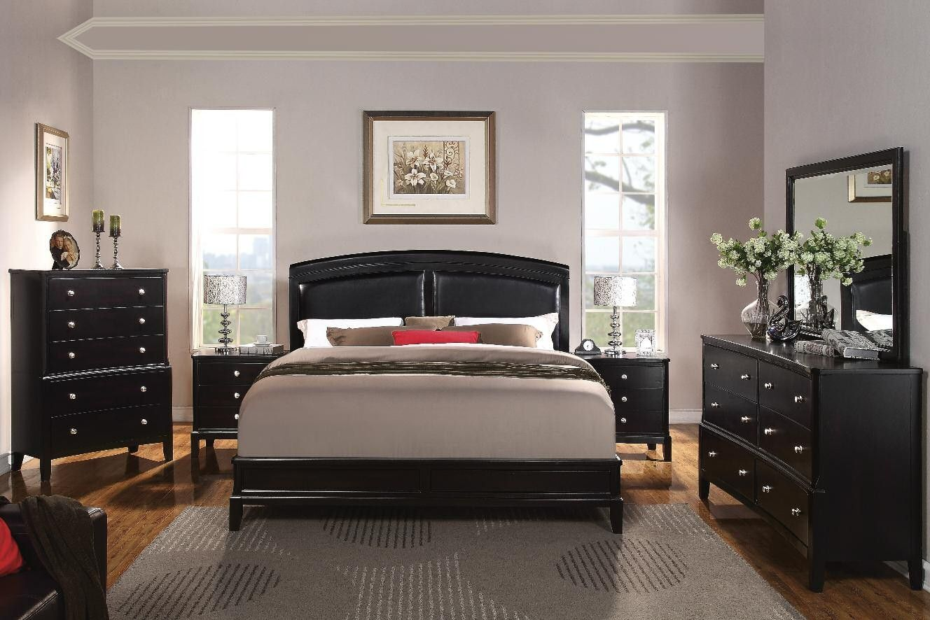 Exceptionnel Shop For Acme Furniture Abram Espresso Finish Queen Bedroom Set, SET, And  Other Master Bedroom Sets At Furniture Plus Inc. In Mesa, AZ.