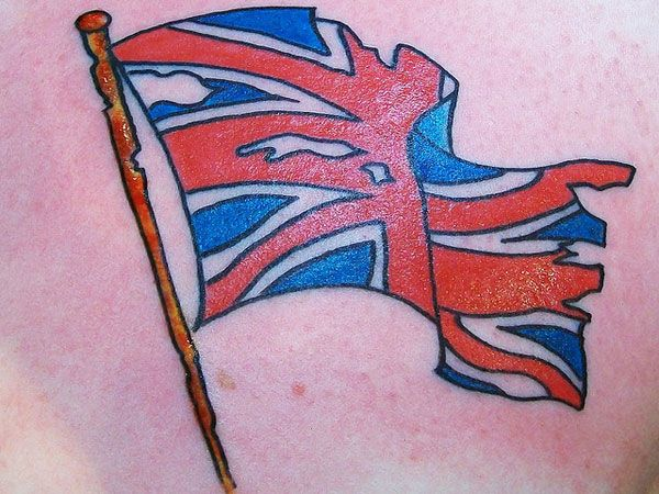 Union Jack Tattoo  Tattoo  Pinterest  Patriotic tattoos