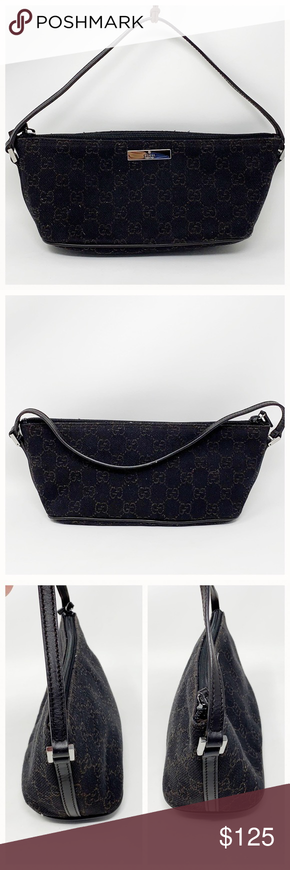 041f81f21 Authentic Gucci Pochette Bag 100% Authenticity Guaranteed Made in Italy  Serial # 071982123 The outer