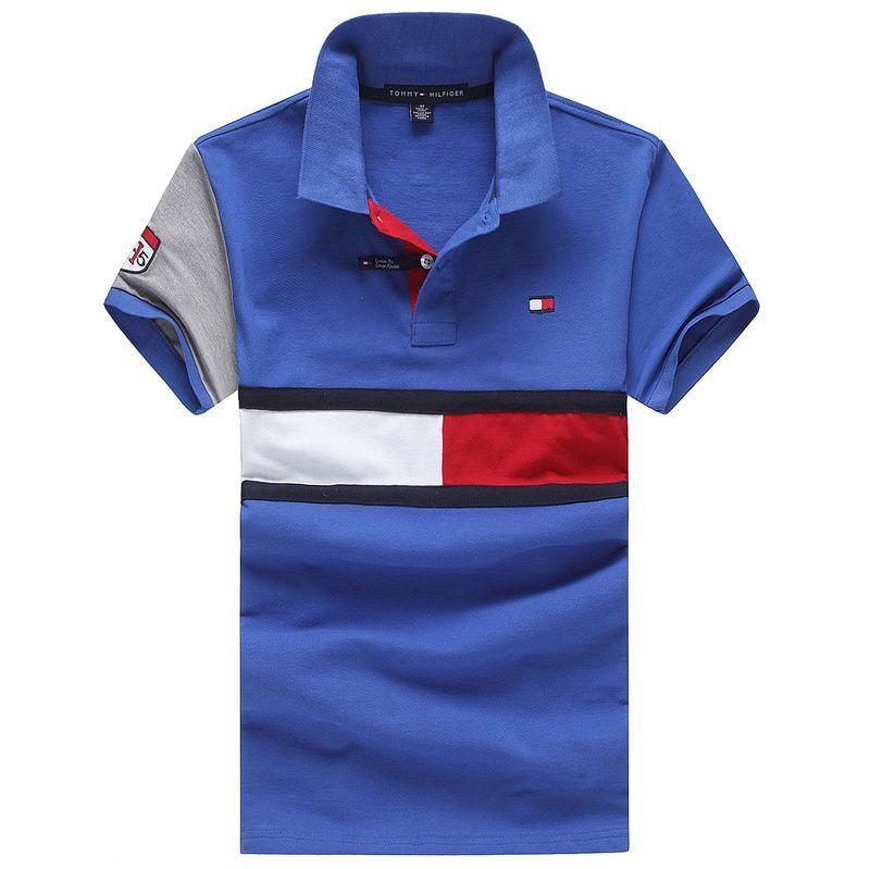 Tommy Hilfiger Polo Shirts Men Short Estilo