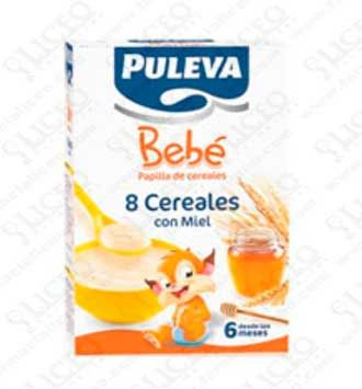 Puleva Bebe Papilla 8 Cereales Y Miel 300 Gr 2 Unidades Helados