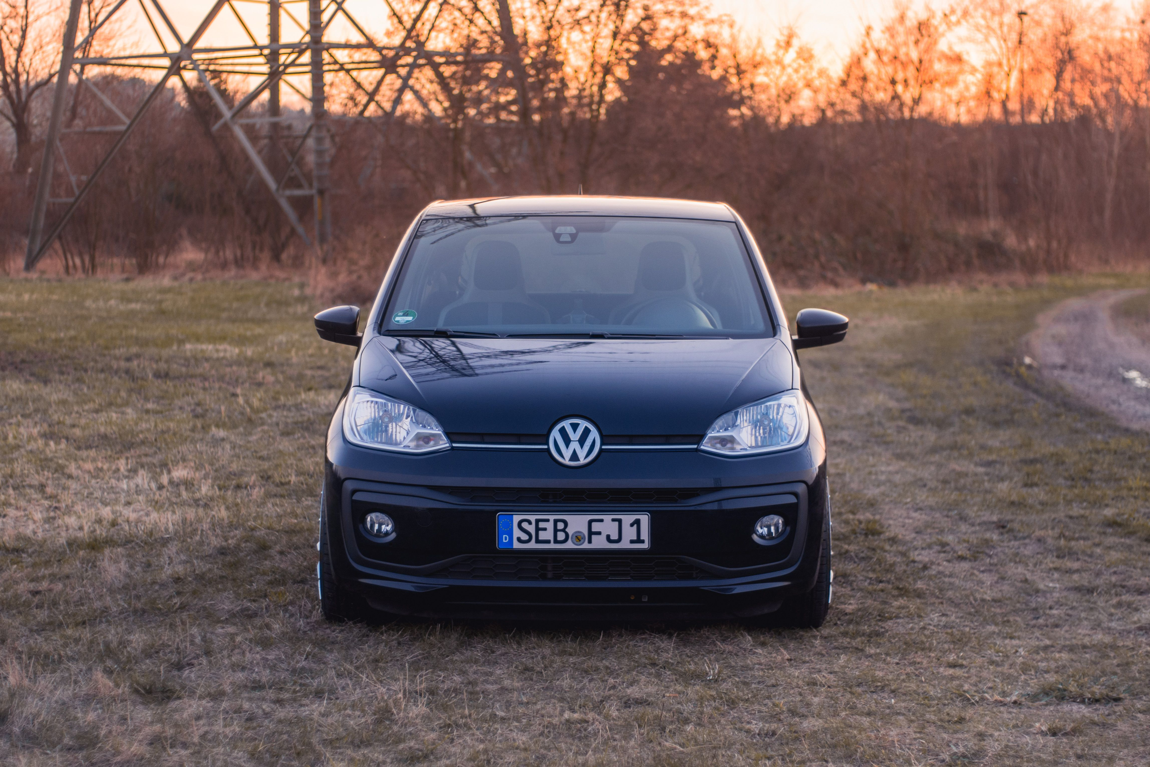 Vw Up Facelift Tuning Low Up Up Vw Rs Plus Black Kleinwagen