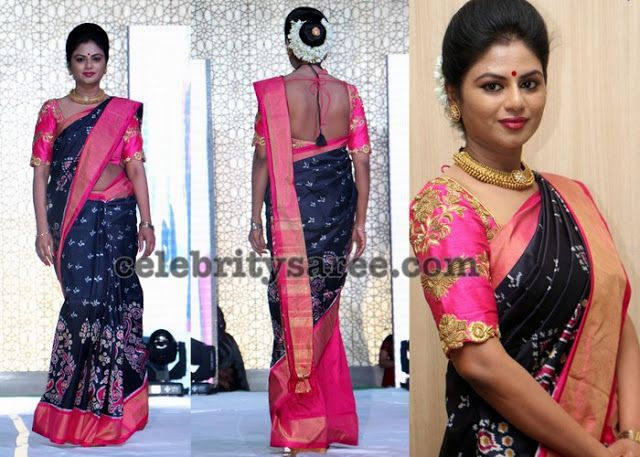 Bhavana Latest Sarees - pinterest.com