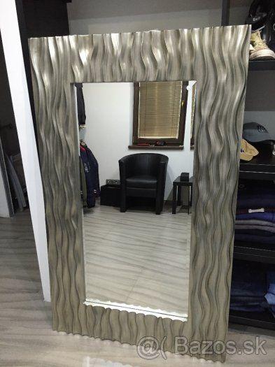 effd66666 Predam Interierove dizajnové Luxusné zrkadlo Billow XL Gold - 1 ...