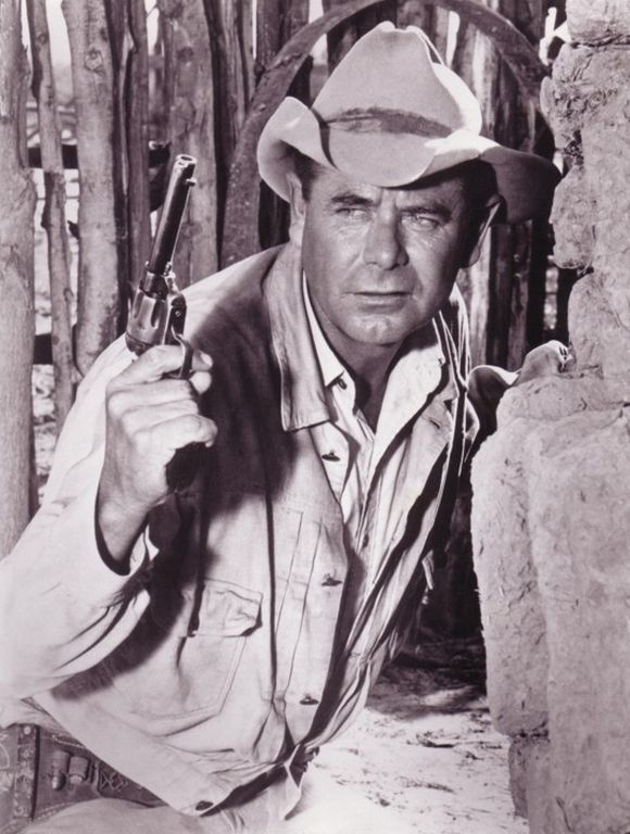 959971a247e00 Glenn Ford  seemed like he wore this hat in most of his Westerns ...