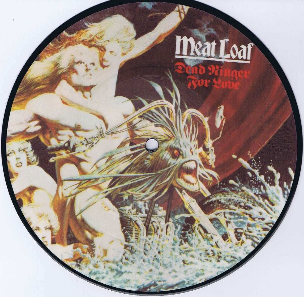 Meat Loaf Dead Ringer For Love 7 Picture Disc Vinyl Record Vinyl Records Vinyl Vintage Vinyl Records